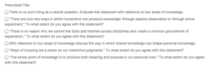 theory of knowledge essays 2014